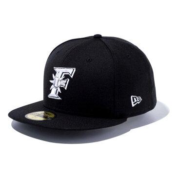 北海道日本ハムファイターズ グッズ カスタム カラー キャップ/帽子 ニューエラ/New Era ブラック/ホワイト(F)