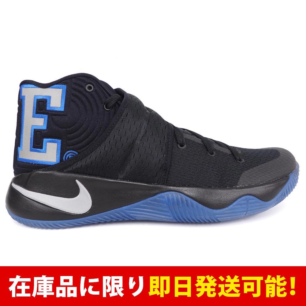ナイキ カイリー/Nike KYRIE カイリー 2 リミテッド デューク KYRIE 2 LMTD DUKE 838639-001 ブラック/シルバー/ロイヤル レアモデル バッシュ:MLB.NBAグッズショップ SELECTION