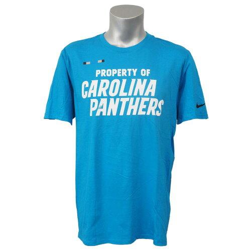 NFL パンサーズ オンフィールド プロパティ Tシャツ ナイキ/Nike ブルー 841044-455