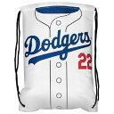 MLB ドジャース クレイトン・カーショー ユニフォーム ジムサック/バックパック/リュック メンズ