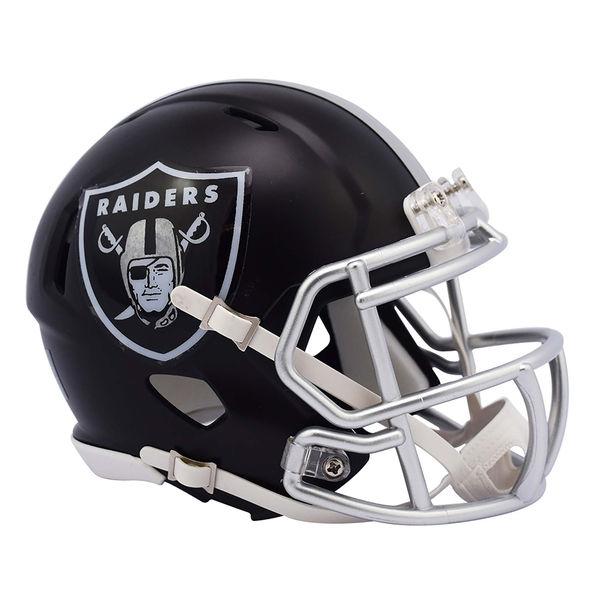 NFL レイダース ブレイズ レボリューション スピード ミニ フットボール ヘルメット リデル/Riddell【プレゼント】