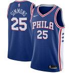 お取り寄せ NBA Nike/ナイキ 76ers ベン・シモンズ スウィングマン ユニフォーム/ユニホーム ブルー