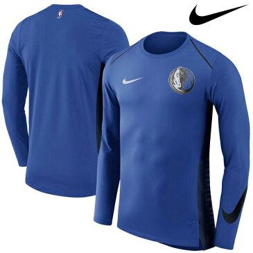 NBA Nike/ナイキ マーベリックス エリート シューター パフォーマンス ロングスリーブ Tシャツ ロイヤル