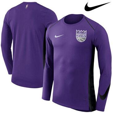 NBA Nike/ナイキ キングス エリート シューター パフォーマンス ロングスリーブ Tシャツ パープル