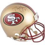 お取り寄せ NFL 49ers スティーブ・ヤング 直筆サイン入り オーセンティック ヘルメット リデル/Riddell