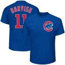 MLB カブス ダルビッシュ有 プレイヤー Tシャツ 半袖 マジェスティック/Majestic ブルー
