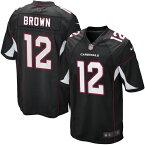 お取り寄せ お取り寄せ NFL カーディナルス ジョン・ブラウン ゲーム ユニフォーム/ユニホーム レプリカ ナイキ/Nike ブラック
