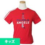 MLB エンゼルス アルバート・プホルス チェイス Tシャツ キッズ アディダス/Adidas レッド