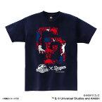 お取り寄せ 中日ドラゴンズ グッズ JURASSIC WORLD/ジュラシック・ワールド コラボ ロゴ Tシャツ スペースエイジ/Space Age