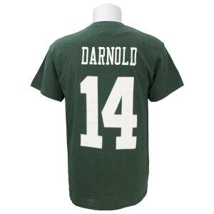NFL ジェッツ サム・ダーノルド Tシャツ 2018 ドラフト ネーム&ナンバー マジェスティック/Majestic