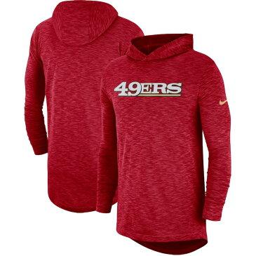 お取り寄せ NFL 49ers パーカー/フーディー フーデッド サイドライン スラブ ナイキ/Nike