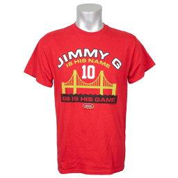 NFL 49ers ジミー・ガロポロ Tシャツ ジミー G【OCSL】