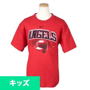 大谷翔平選手所属 MLB エンゼルス Tシャツ キッズ チームヘルメット ナイキ/Nike レッド