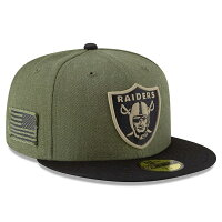 【取寄】New Era NFL Salute to Service 59FIFTYキャップ - 