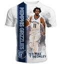 渡邊雄太所属 NBA グリズリーズ マイク・コンリー Tシャツ 半袖 ハイライト Levelwear ホワイト