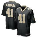 NFL ユニフォーム セインツ アルヴィン・カマーラ アルビン・カマーラ ナイキ Nike ブラック レジェンド メンズ 半袖 ゲーム
