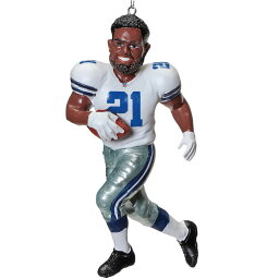 NFL カウボーイズ エゼキエル・エリオット レジン チーム プレイヤー オーナメント Forever Collectibles