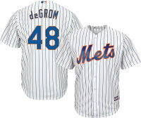【取寄】お取り寄せ MLB メッツ ジェイコブ・デグロム レプリカ ユニフォーム/ジャージ クールベース マジェスティック/Majestic ホーム - お取寄!総数200点オーバーのMLBプレイヤーレプリカユニフォーム