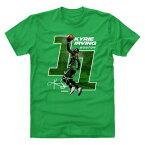 NBA Tシャツ セルティックス カイリー・アービング プレーヤー アート レイアップ 500Level グリーン【1910価格変更】【1911NBAt】