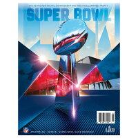 NFL 第53回 スーパーボウル オフィシャル プログラム Super Bowl LIII - スーパーボウル公式プログラム予約受付開始!