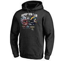 【取寄】NFL Tシャツ Super Bowl LIII デュエリング アイテム - 第53回スーパーボウル出場チームのロゴが入った限定モデルが登場!