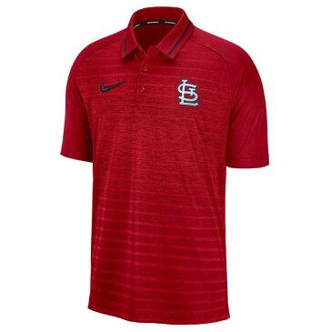 お取り寄せ お取り寄せ MLB カージナルス ポロシャツ ストライプ ゲーム メンズ ナイキ/Nike レッド
