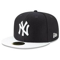 MLB ヤンキース キャップ/帽子 2019 オンフィールド バッティング プラクティス ニューエラ/New Era ゲーム - 選手着用最新モデル!MLBバッティングプラクティスキャップ!