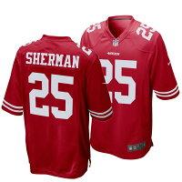 【取寄】NFL 49ers リチャード・シャーマン ユニフォーム - 49ers リチャード・シャーマン選手のユニフォームが登場!