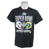 NFL Tシャツ 第53回スーパーボウル記念 ペイトリオッツ vs ラムズ ゴールライン スタンド - 第53回スーパーボウル記念&カンファレンス記念のアパレルが新登場!!
