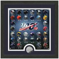 【取寄】お取り寄せ NFL 100周年記念 ヘルメットフォト コイン The Highland Mint - 今年で100周年!!NFL記念コイン取寄せスタート!