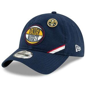 NBA ナゲッツ キャップ/帽子 2019 NBA ドラフト アジャスタブル ニューエラ/New Era ネイビー【1910価格変更】【191028変更】