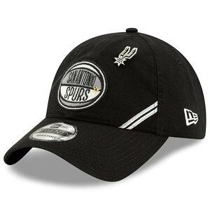 NBA スパーズ キャップ/帽子 2019 NBA ドラフト アジャスタブル ニューエラ/New Era ブラック【1910価格変更】【191028変更】
