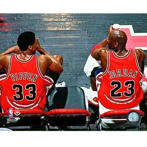 スコッティ・ピッペン マイケル・ジョーダン ブルズ NBA フォト Photo File
