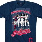 MLB クリーブランド・インディアンス Tシャツ KISS コラボ ドレス トゥ キル ネイビー【lb1910変更】【1112】
