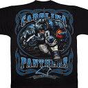 NFL パンサーズ Tシャツ ランニング バック ブラック