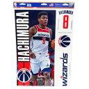 NBA 八村塁 ワシントン・ウィザーズ デカールステッカー 4ピース ウィンクラフト/WinCraft