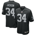 NFL ボー・ジャクソン レイダース ユニフォーム/ジャージ Game Jersey ナイキ/Nike ブラック 468964-023