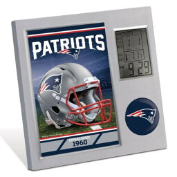 NFL ペイトリオッツ Desk Clock 時計 デスク ウィンクラフト/WinCraft