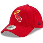 大谷翔平選手所属 MLB ロサンゼルス・エンゼルス キャップ/帽子 2020 Clubhouse 39THIRTY Flex Hat クラブハウス ニューエラ/New Era レッド