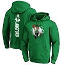 NBA ロメオ・ラングフォード ボストン・セルティックス パーカー/フーディー プレーメイカー ネーム & ナンバー プルオーバー グリーン 1