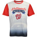 MLB ワシントン・ナショナルズ Tシャツ Outfield Photo Tee Forever Collectibles