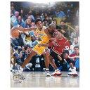 NBA コービー・ブライアント マイケル・ジョーダン Michael Jordan & Kobe Bryant 1998 Action 8x10 フォト 写真 Photo File
