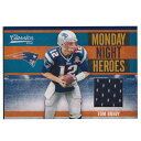 NFL トム・ブレイディ ペイトリオッツ トレーディングカード/スポーツカード 1点物 2010 ジャージ カード 43/150 Panini