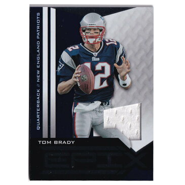 NFL トム・ブレイディ ペイトリオッツ トレーディングカード/スポーツカード 2010 EPIX Jersey Card #41 Panini