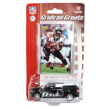 NFL ウォリック・ダン ファルコンズ Gridiron Greats Replica Diecast Car with Card Upper Deck