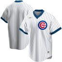 MLB シカゴ・カブス ユニフォーム/ジャージ クーパーズタウン コレクション ナイキ/Nike ホワイト