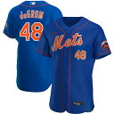MLB ジェイコブ・デグロム ニューヨーク・メッツ ユニフォーム/ジャージ オルタネート 2020 オーセンティック ナイキ/Nike ロイヤル