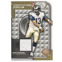 NFL カート・ワーナー ラムズ トレーディングカード 2002 Focus Jersey Edition Franchise Card Fleer
