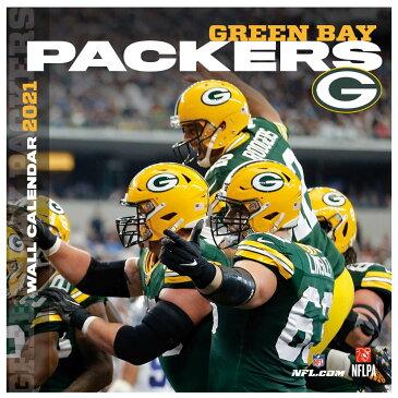 パッカーズ カレンダー NFL 2021年版 チーム 壁掛け ポスター インテリア Turner