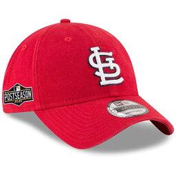 カージナルス キャップ 帽子 MLB ニューエラ New Era 9TWENTY レッド 2020ポストシーズンサイドパッチ アジャスタブル